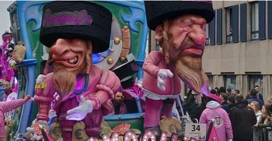 IIA blog - Head of European Jewish Association blasts grotesque and disgusting Antisemitic Aalst carnival float