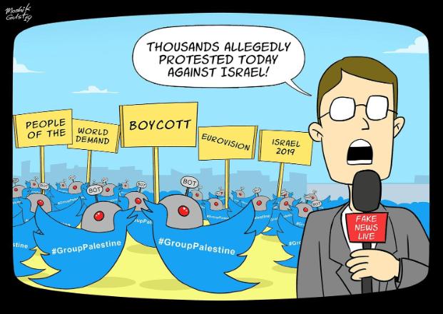 IIA blog - Exposed: Fake Social Media Campaign Promoting Eurovision Boycott