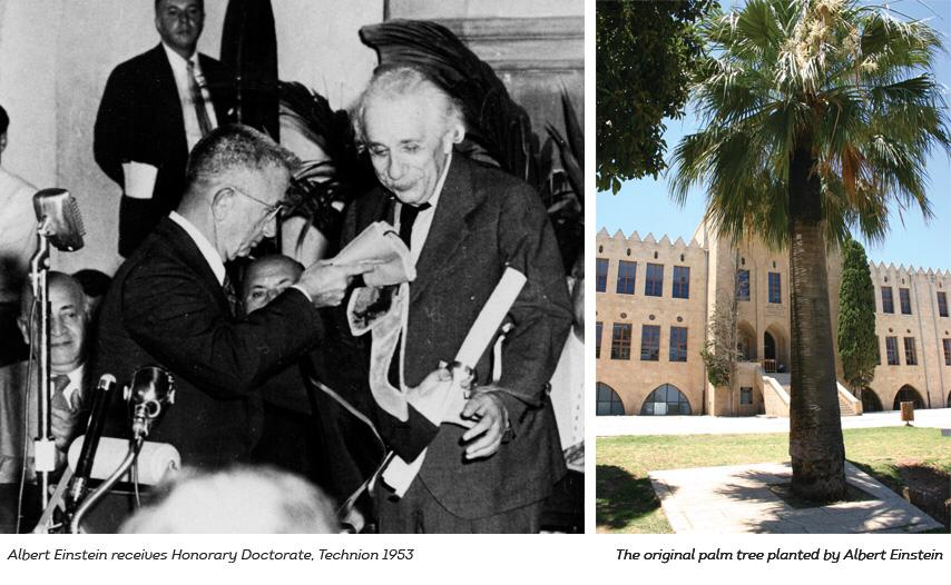 Albert Einstein and Haifa Technion
