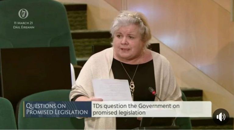 Patricia Ryan, Sinn Féin TD for Kildare South