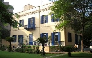 The Swiss embassy in Cairo - confiscated by the Egyptian state from the Zuckerman family (Source: Swiss Federal Department of Foreign Affairs)