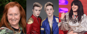 Mary Coughlan, Jedward and Imelda May have all been tweeting about Israel recently (Sources: RSVP.ie, Irish Mirror, bookingagentinfo.com)