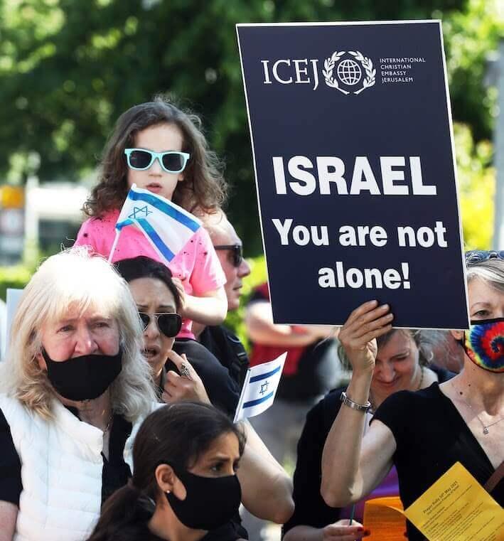 Ireland israel defence rally (1)