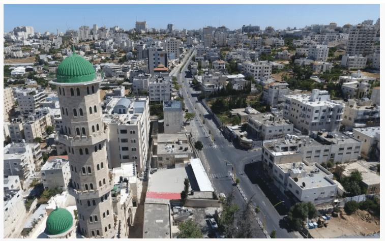 View of the city of Hebron (Noor Khatib/Jerusalem Post)
