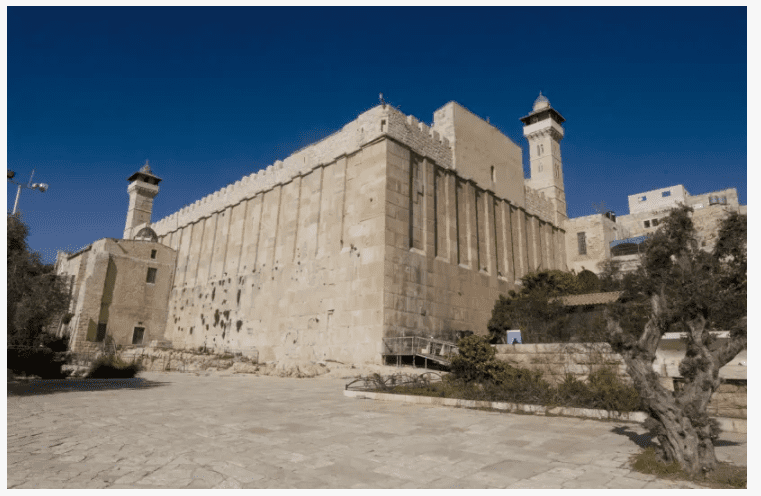 The Cave of the Patriarchs in Hebron (Marc Israel Sellem)